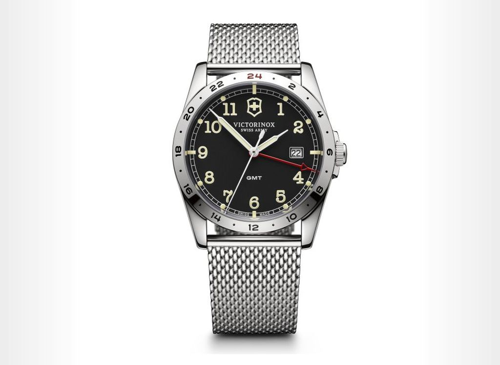 Victorinox Infantry GMT watch 18 Beautiful GMT Watches to Keep Travelers On Time, In Style