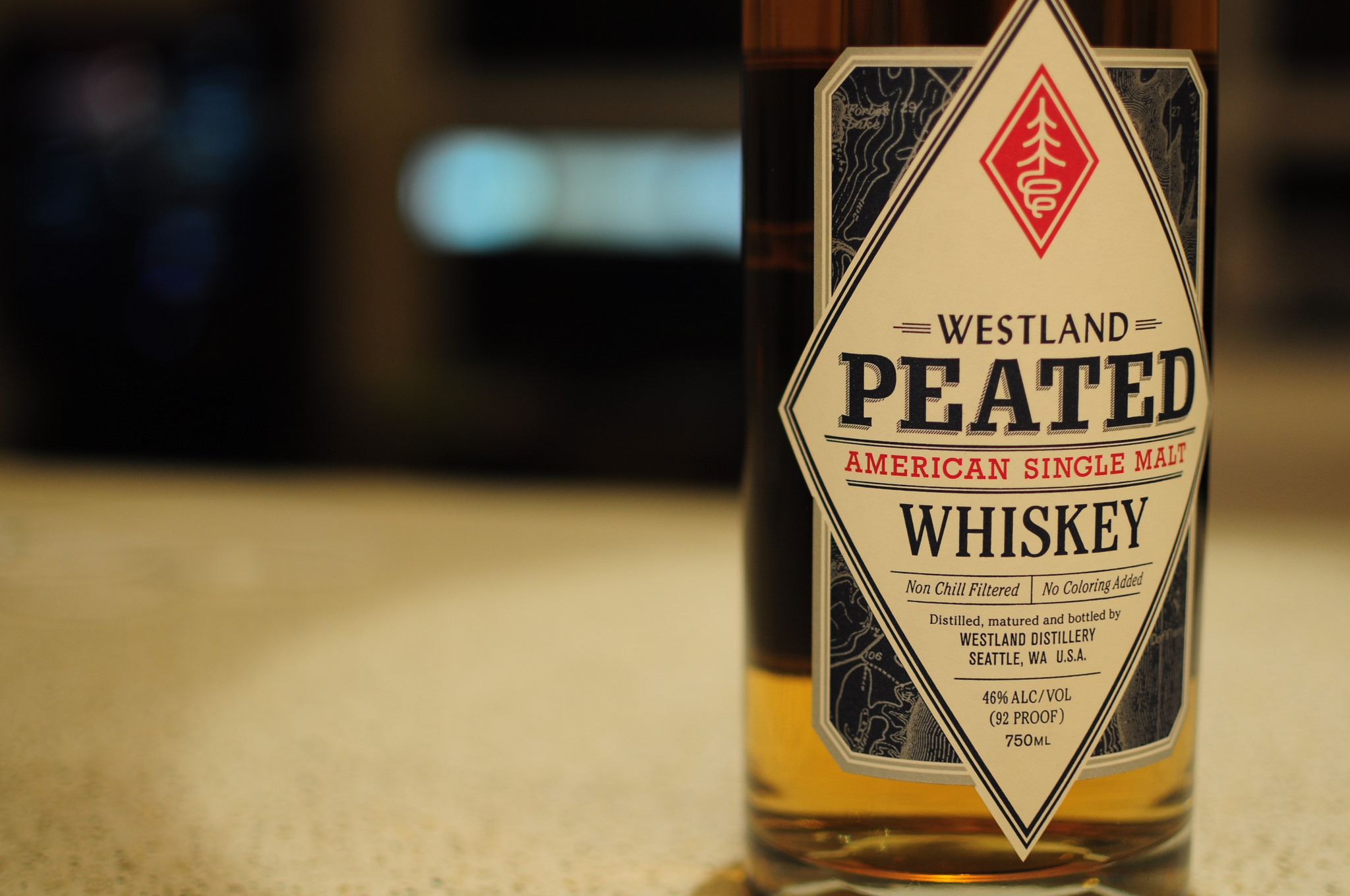 Westland Peated American Single Malt – scotch