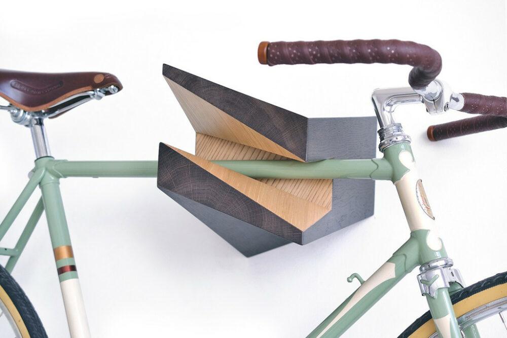 Woodstick Iceberg Chestnut Aesthetic Bike Hanger