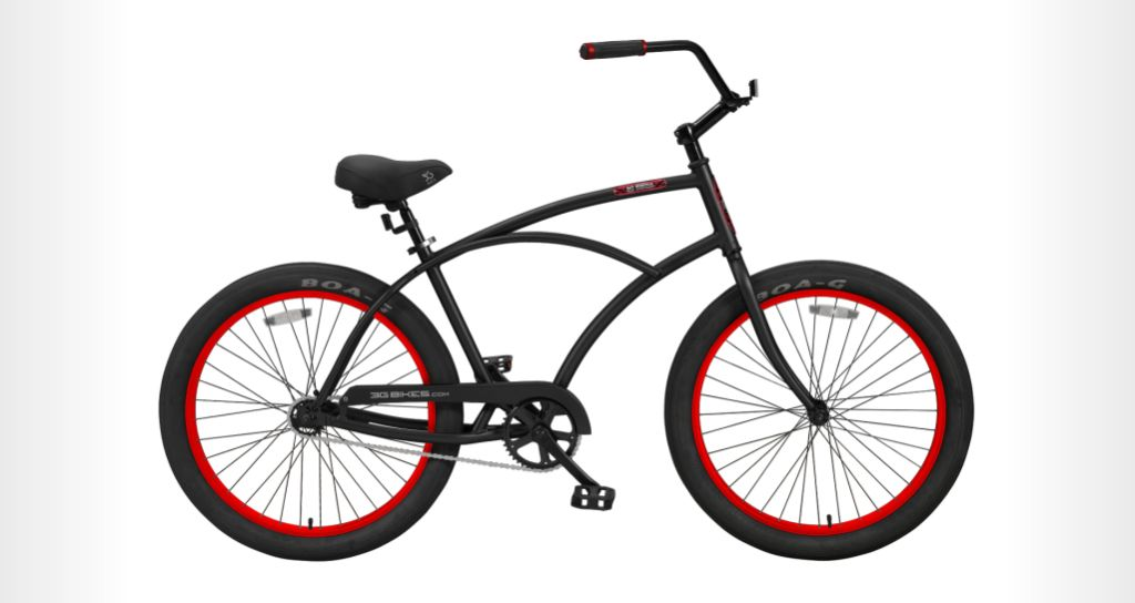 3G Bikes - Newport, Alloy Frame - 1 Speed Cruiser