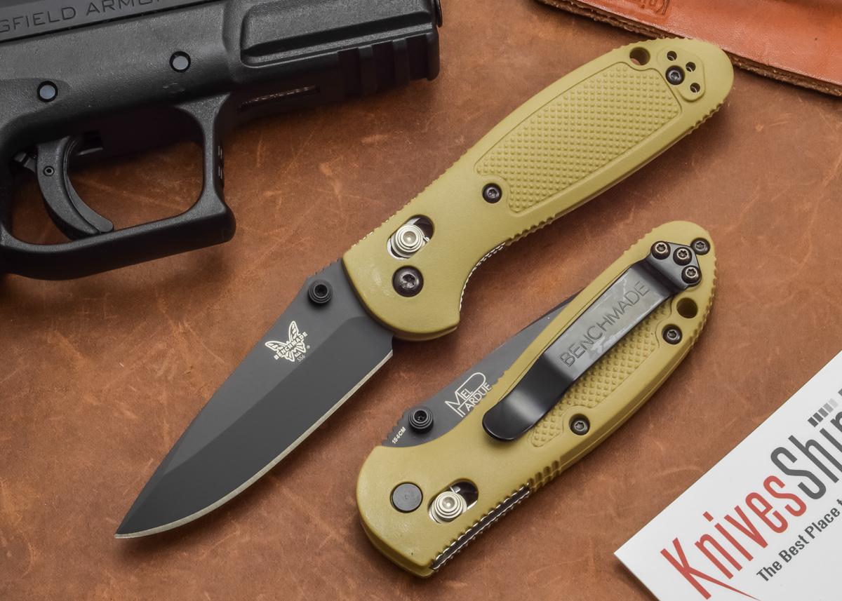 Benchmade Pardue Design Axis Griptilian – edc knife