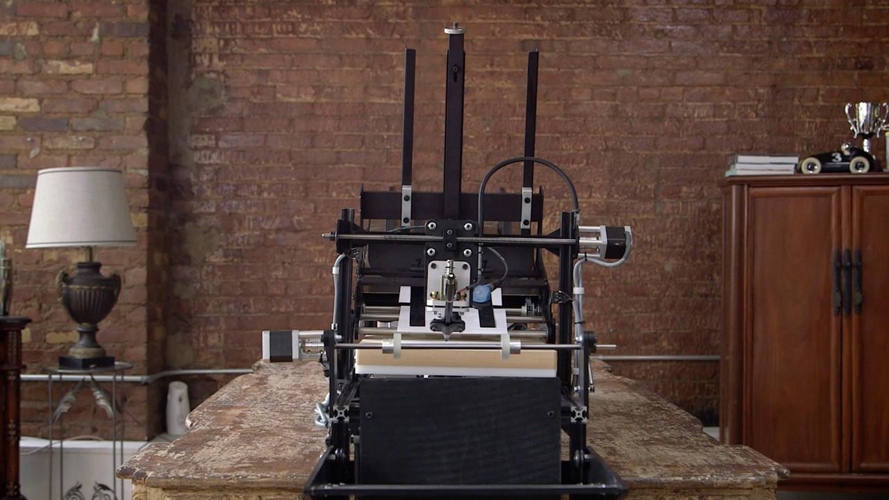 Bond Handwriting Robot – weird invention