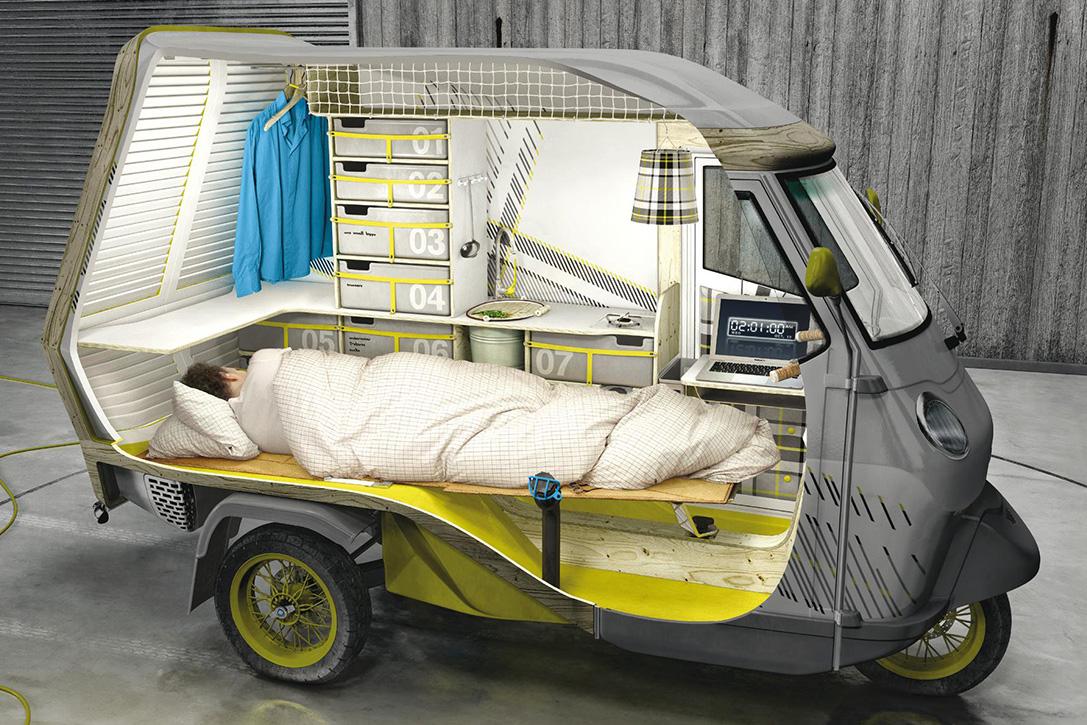 Bufalino Camping Scooter – technology