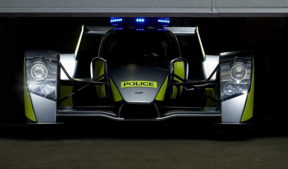 Caparo T1 RRV police car 960x565 Hot Pursuit: Worlds 18 Wildest Police Cars