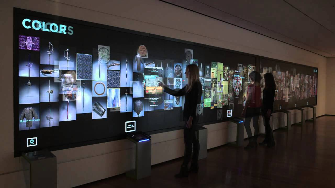 Cleveland Museum of Art Interactives