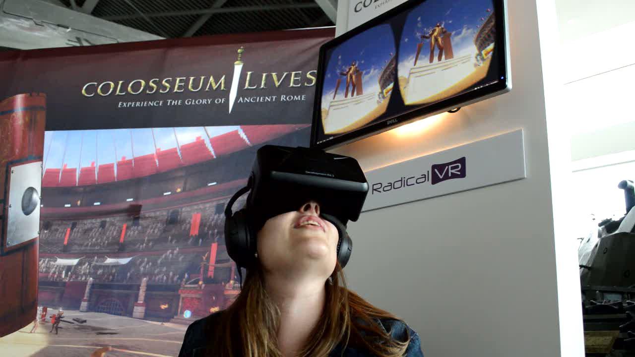 Colosseum Lives – fun museum exhibit