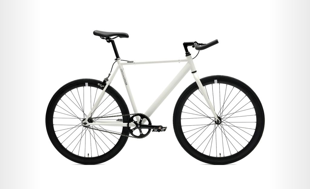 Critical Cycles - Fixed-Gear Single Speed Bike with Pursuit Handlebars