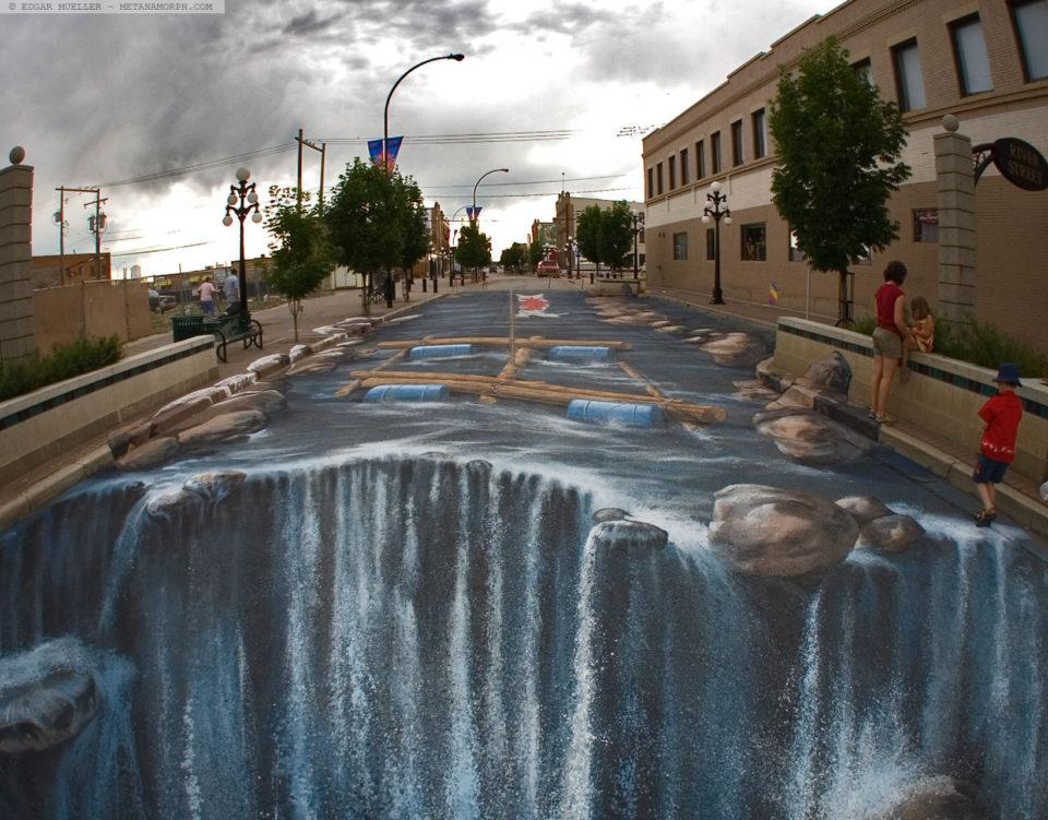 Edgar Müller - 3D sidewalk art 3
