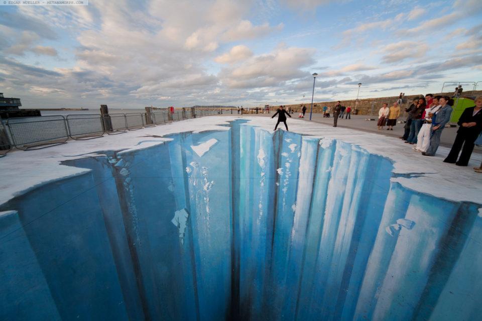 Edgar Müller - 3D sidewalk art