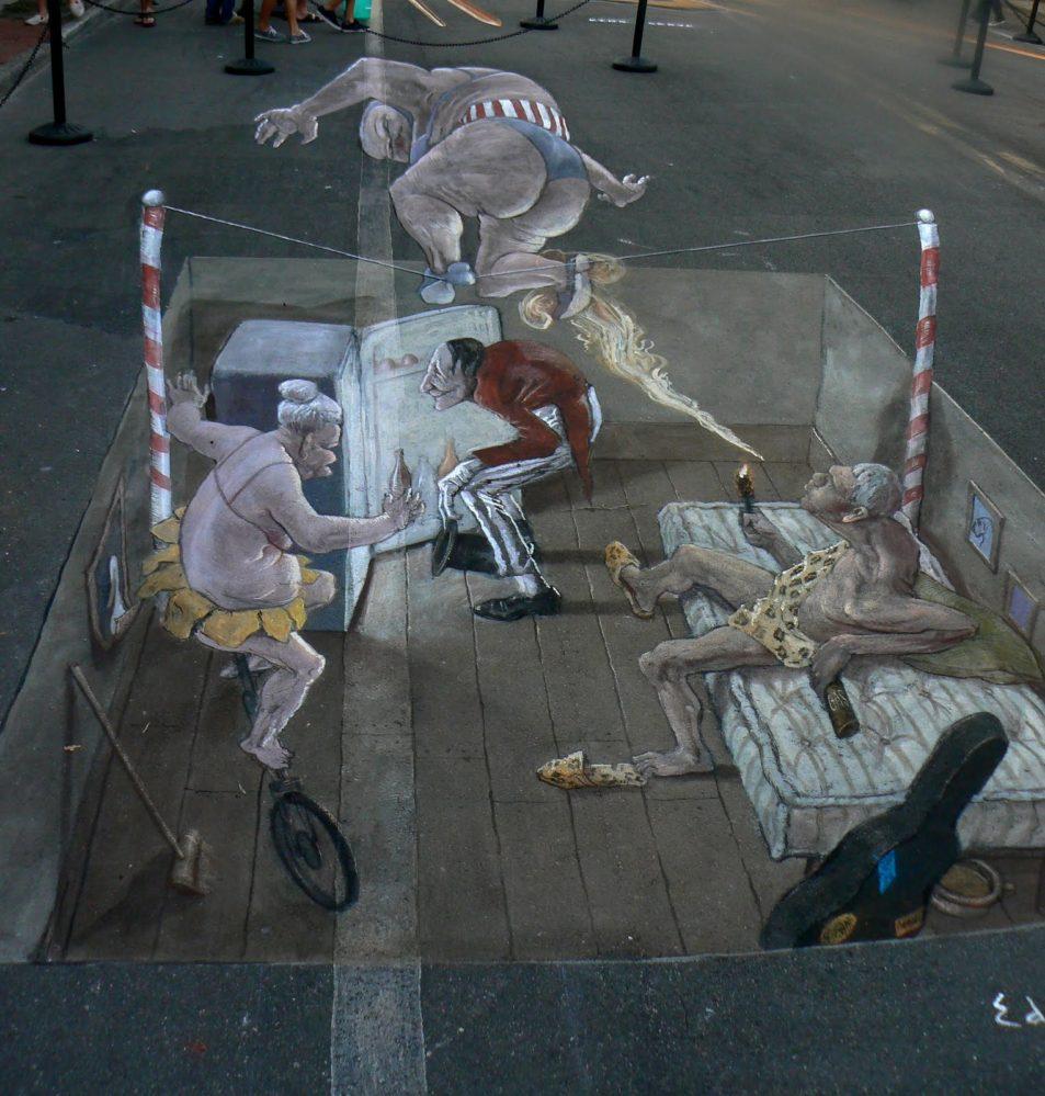 Eduardo Rolero - 3D sidewalk art 4