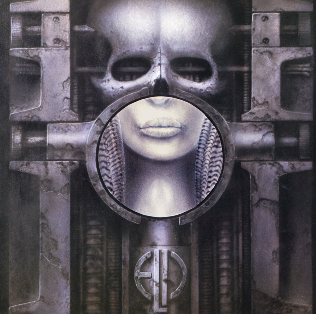 Emerson, Lake & Palmer – Brain Salad Surgery – album cover