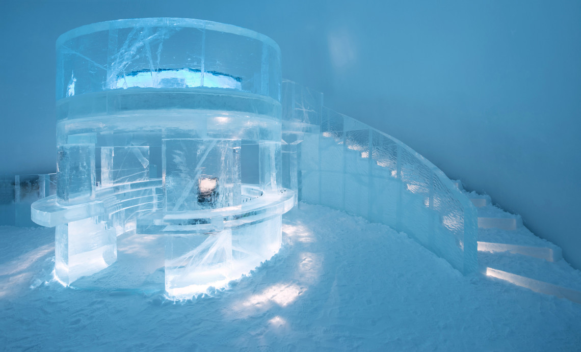 Icehotel – odd hotel