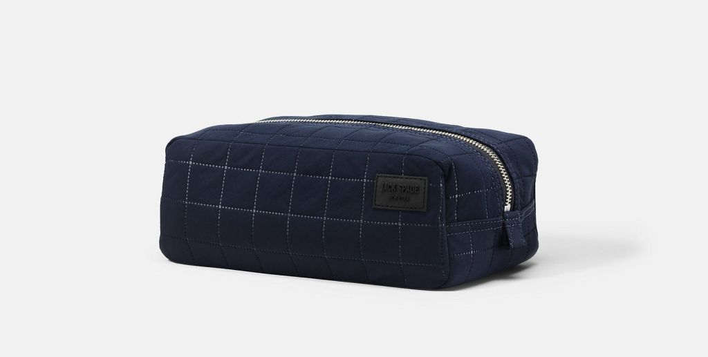Jack Spade – Quilted Tech Nylon Toiletry Kit