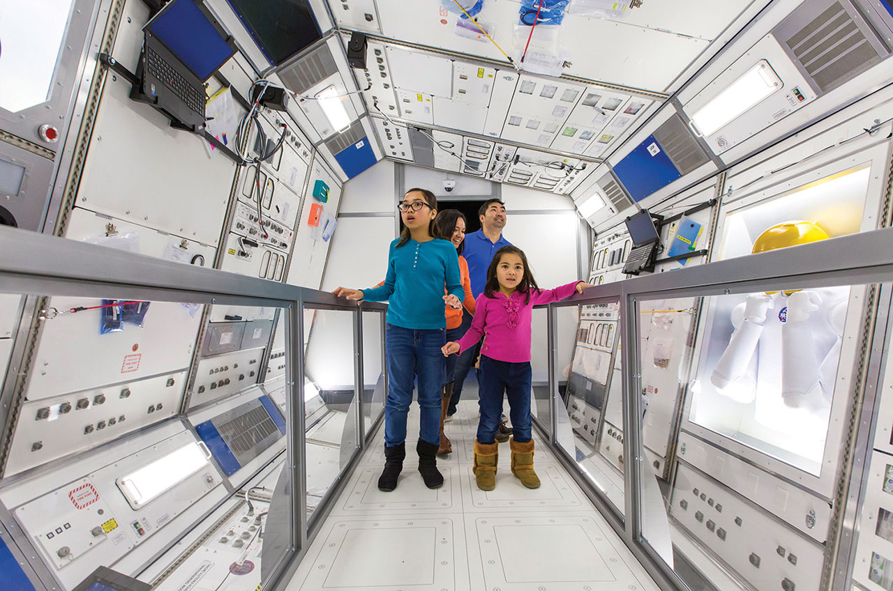 Journey to Space – interactive museum exhibit