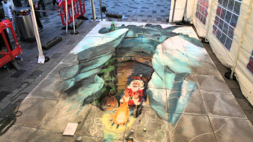Julian Beever - 3D sidewalk art