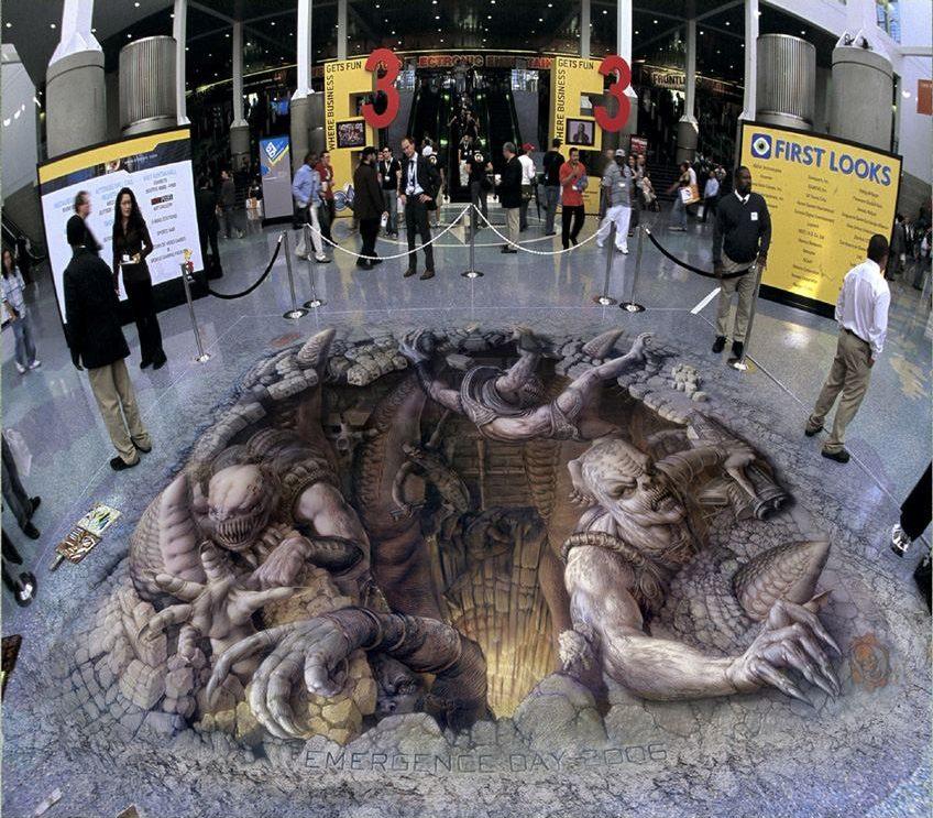 Kurt Wenner - 3D sidewalk art 4