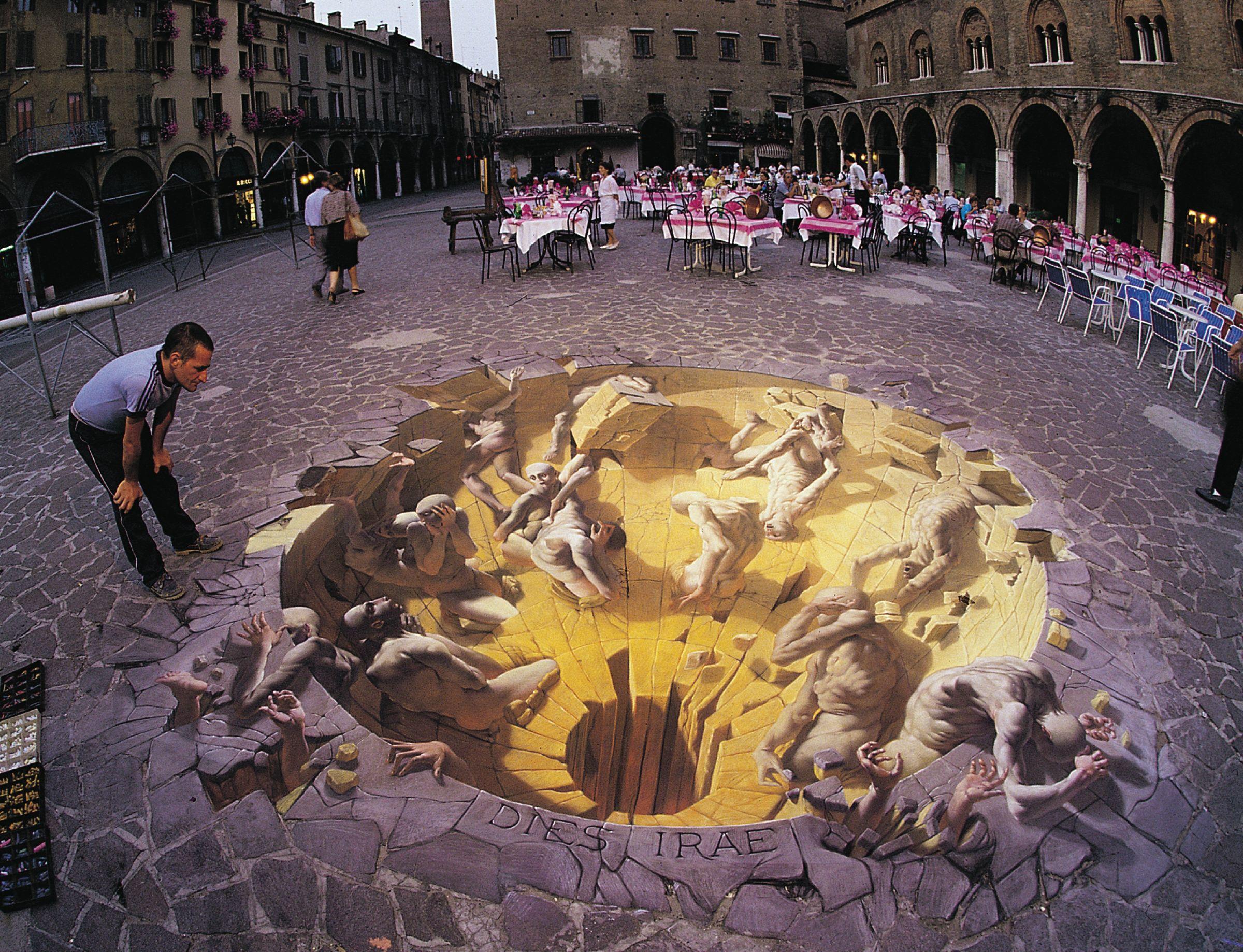 Kurt Wenner – 3D sidewalk art