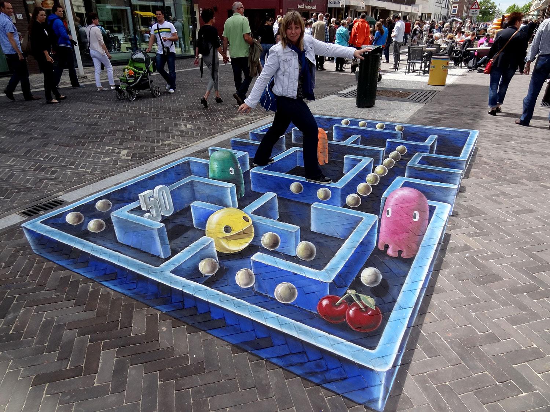 Leon Keer – 3d Sidewalk art 2