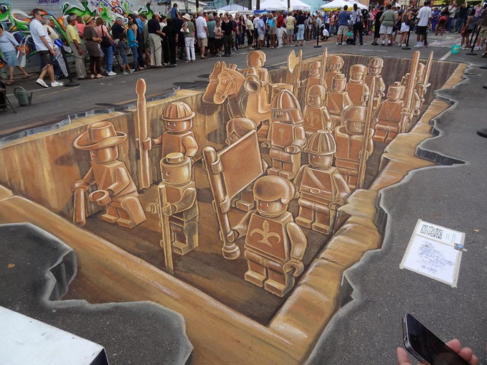 Leon Keer - 3d Sidewalk art 3