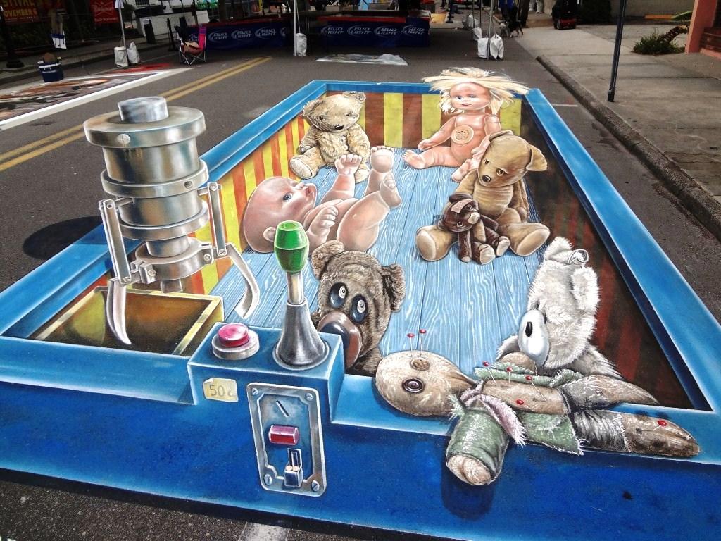 Leon Keer – 3d Sidewalk art
