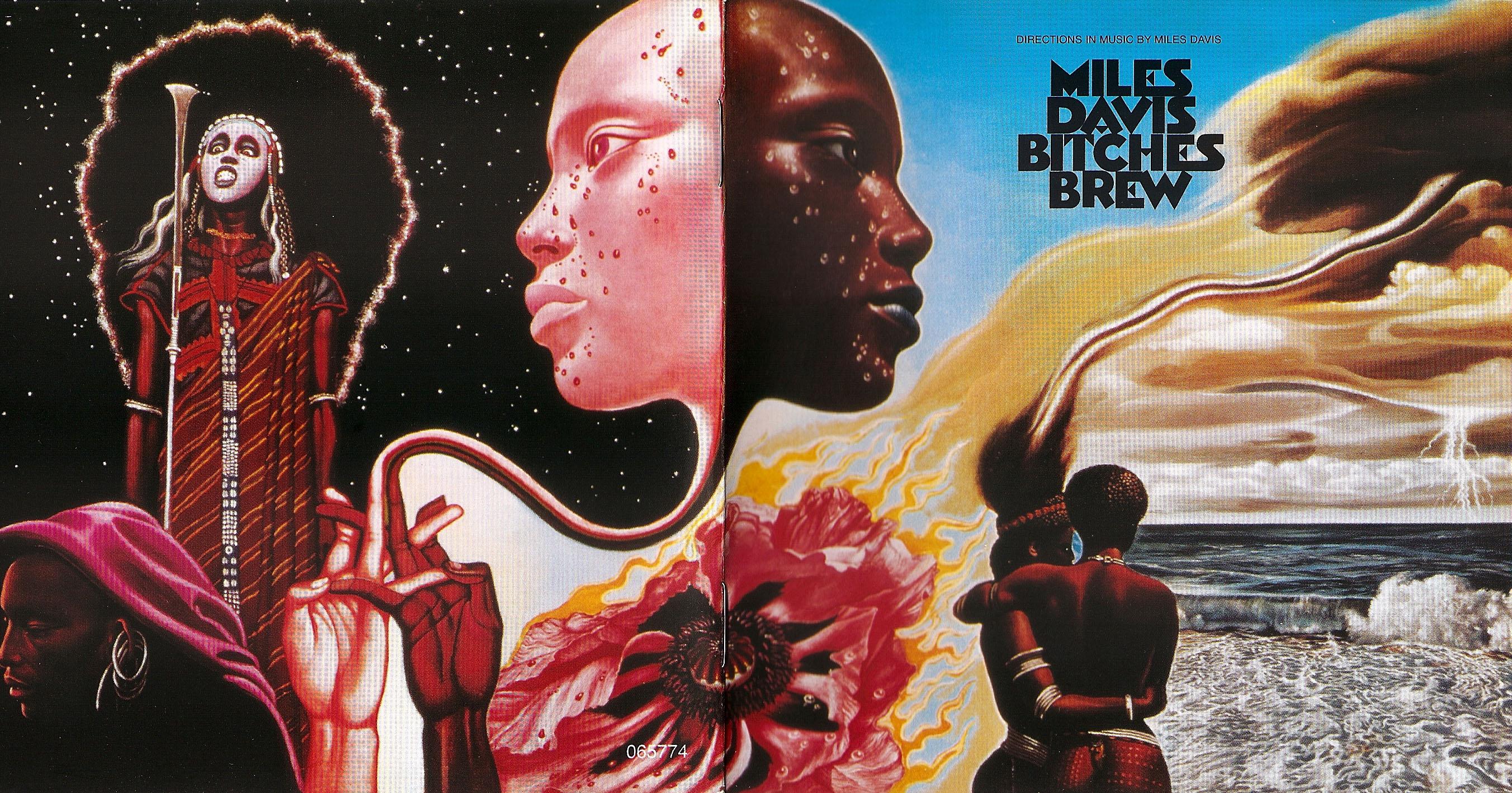 Miles Davis – Bitches Brew – album cover