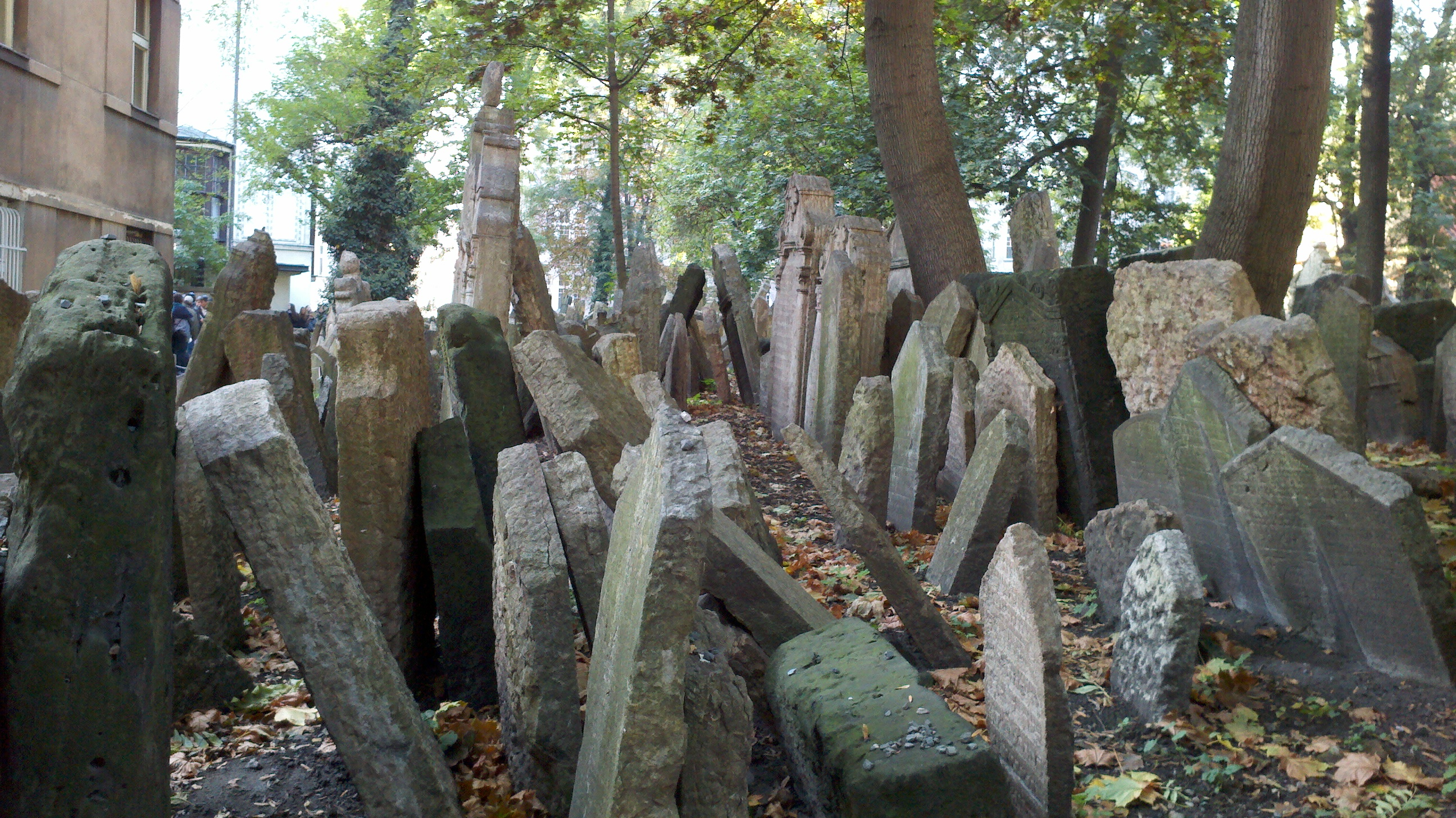 Old Jewish Cemetery in Prague – haunted places