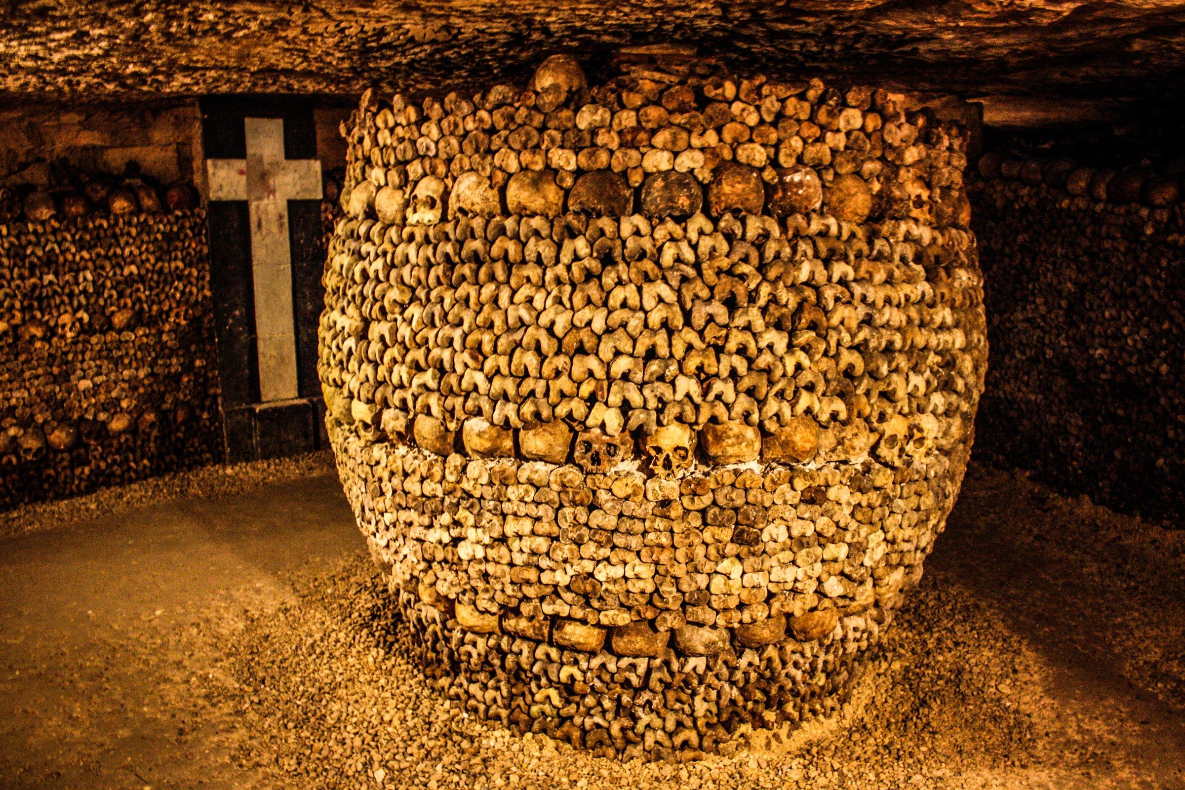 Paris Catacombs – haunted place