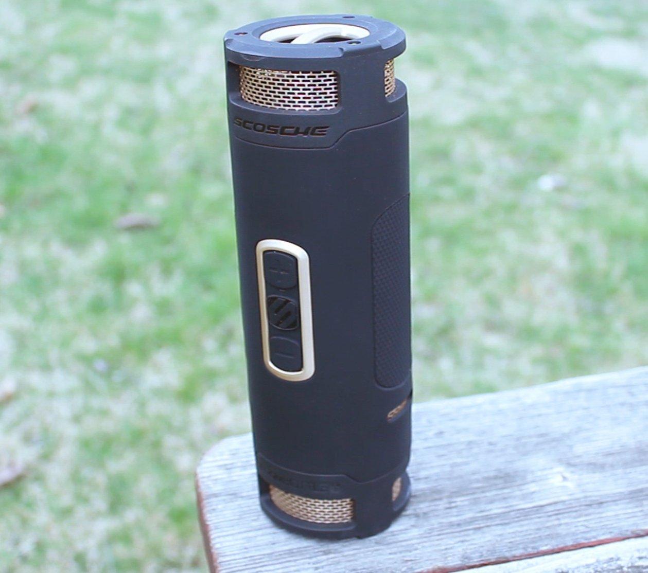 Scoche boomBOTTLE+ – waterproof bluetooth speaker