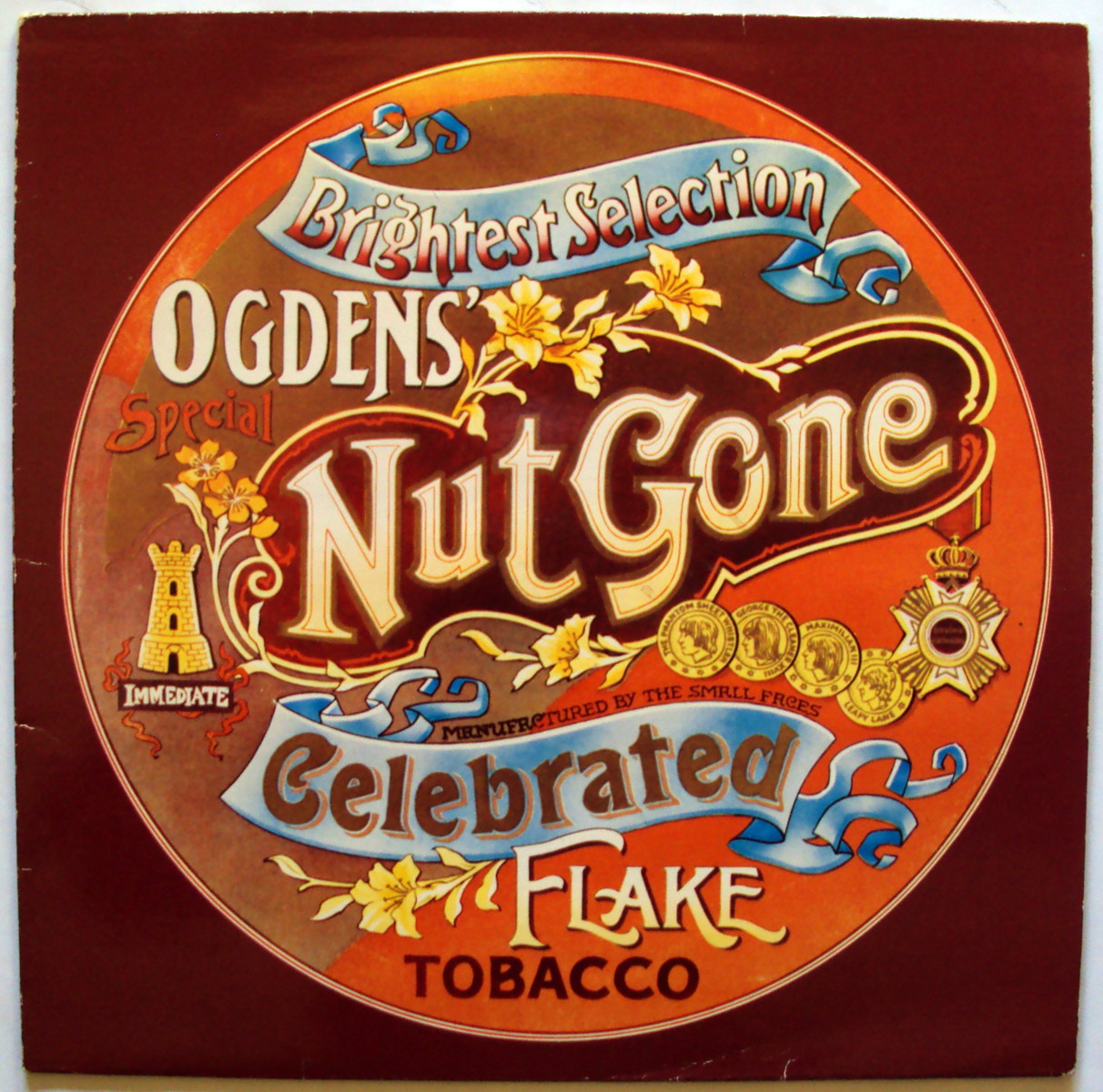 Small Faces – Ogden's Nut Gone Flake – album cover