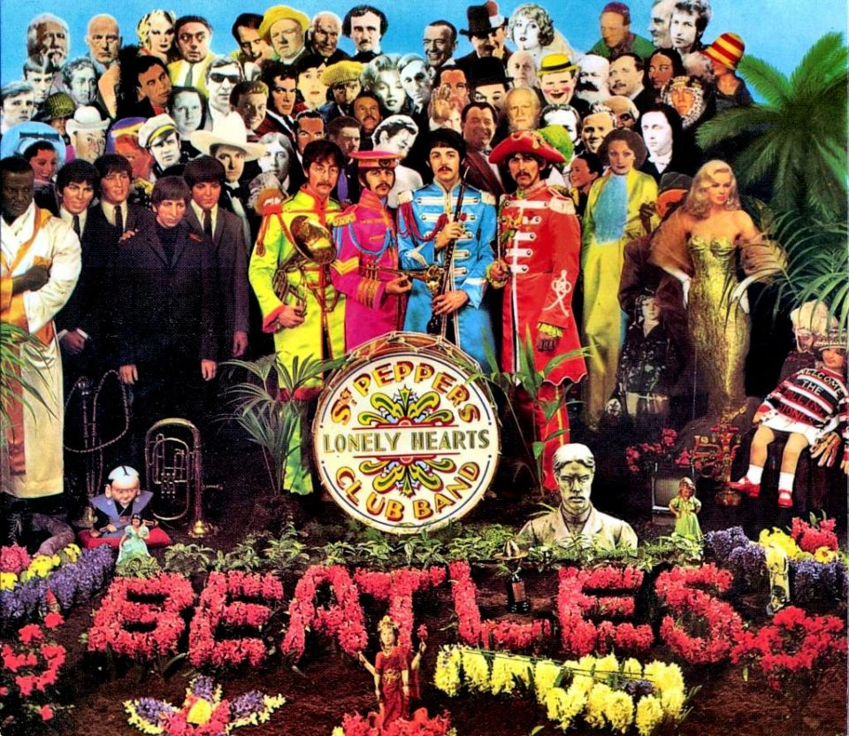 The Beatles Sgt.Peppers Lonely Hearts Club Band album cover 960x832 22 Album Covers That Changed The Face of Music