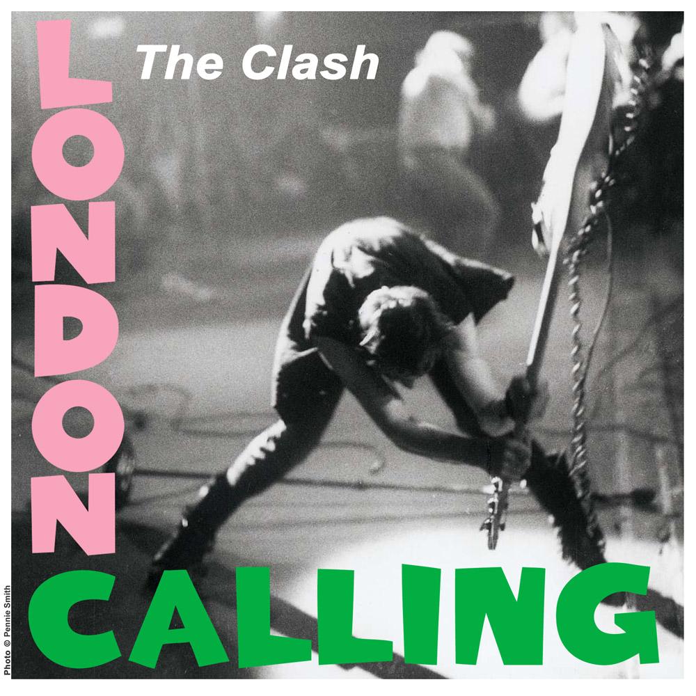 The Clash – London Calling – album cover