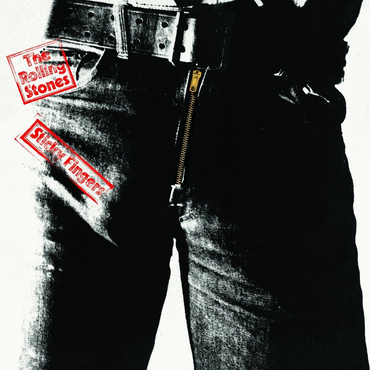 The Rolling Stones – Sticky Fingers – album cover