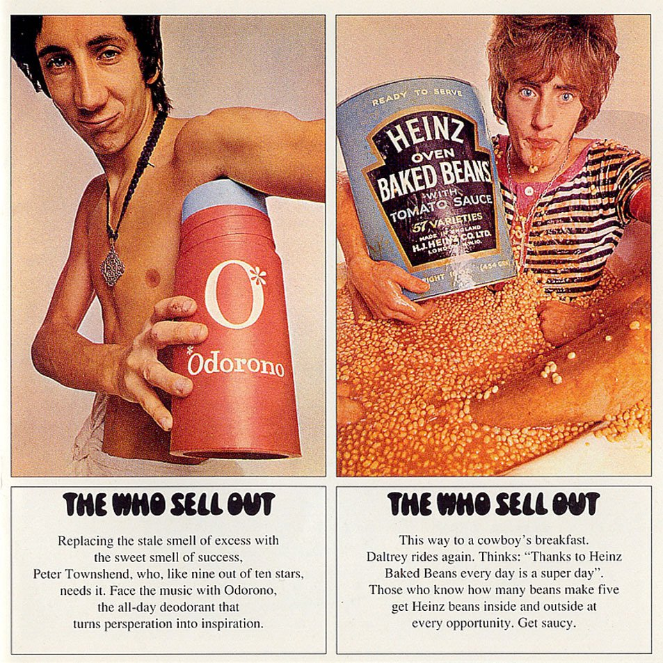 The Who – The Who Sell Out – album cover