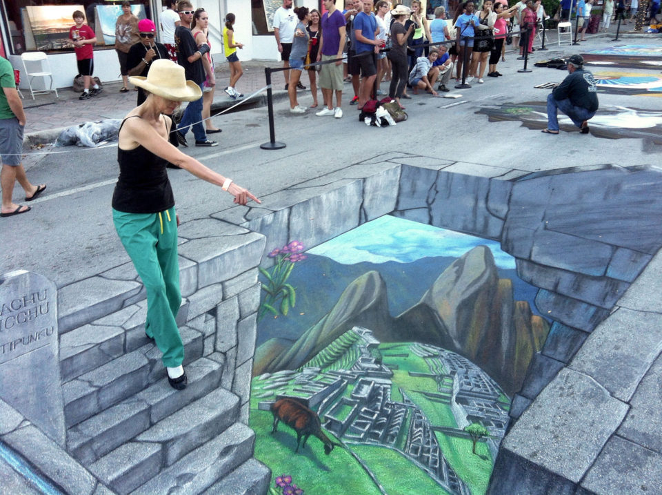 Tracy Lee Stum 3D sidewalk art 3 960x717 Breathtaking 3D Sidewalk Art To Be Enjoyed By All