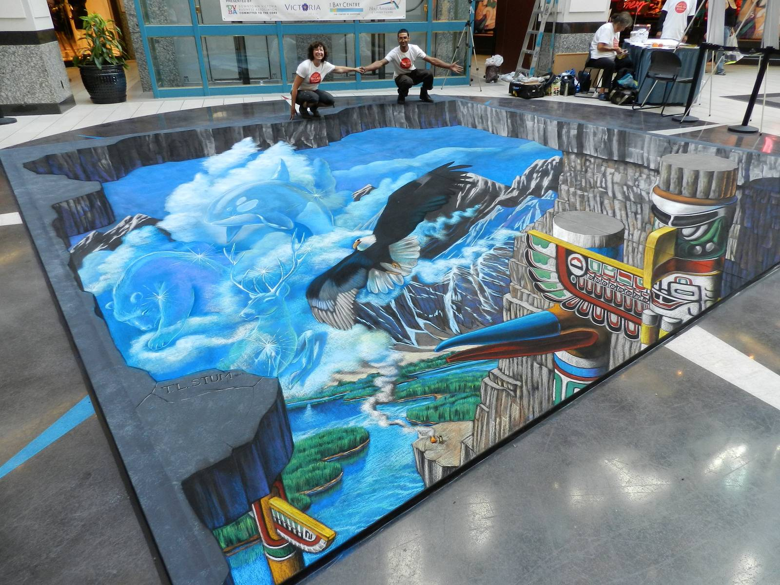 Tracy Lee Stum – 3D sidewalk art