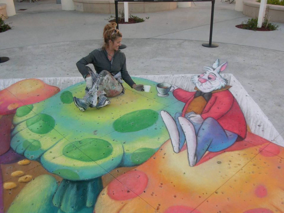 Tracy Lee Stum - 3D sidewalk art2