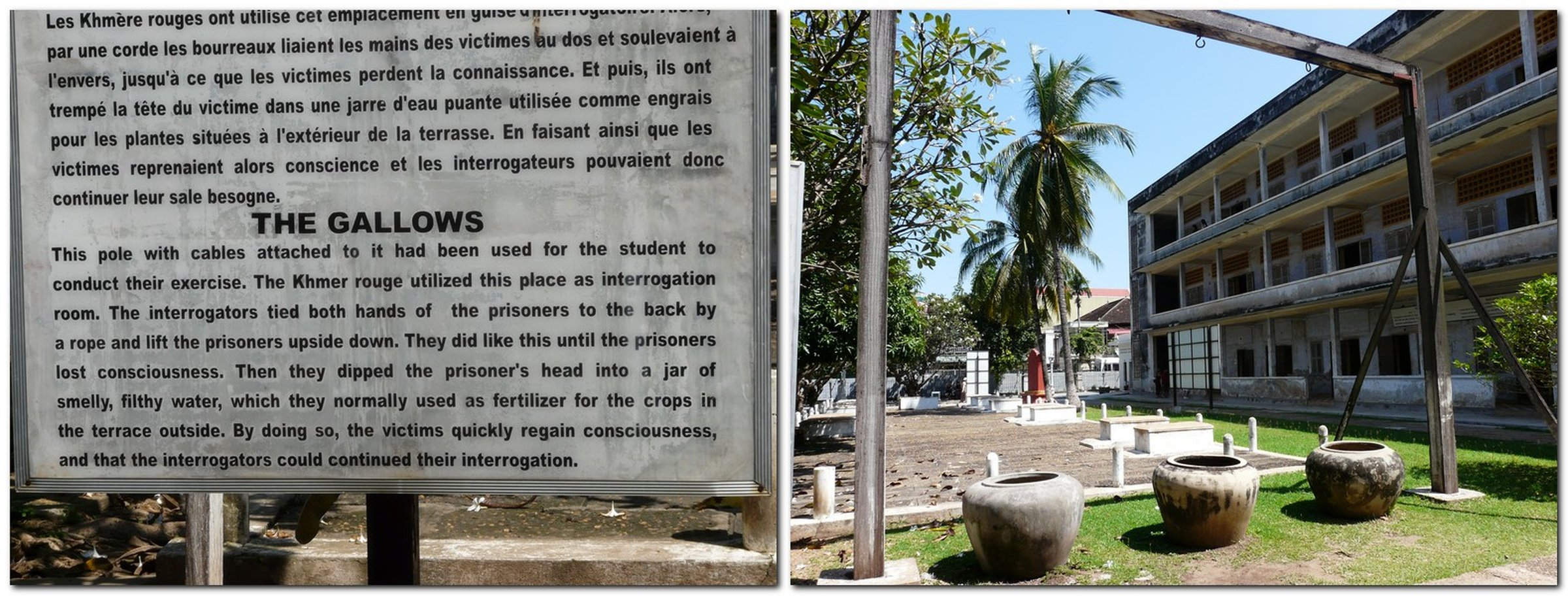 Tuol Sleng Genocide Museum – haunted place