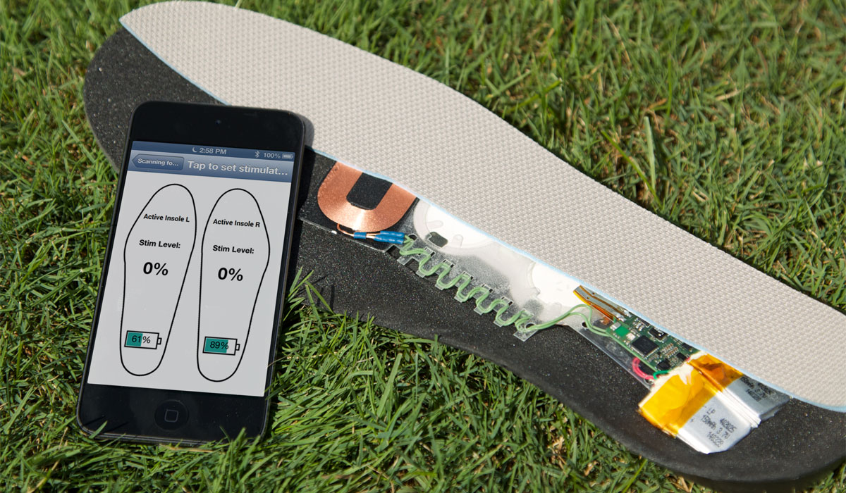 Vibrating Insoles – technology
