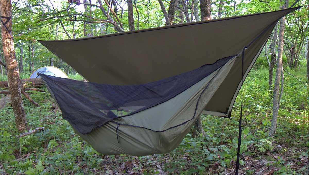 Warbonnet Blackbird Camping Hammock – minimalist camping