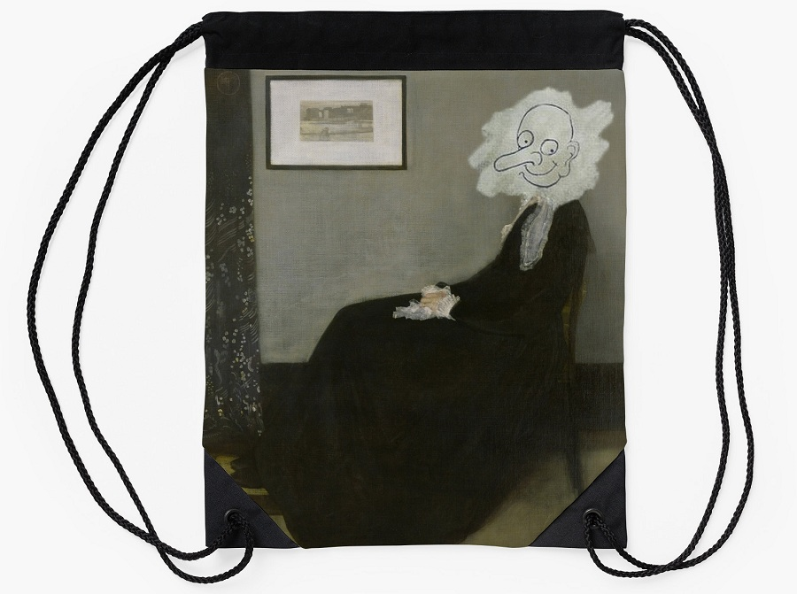 Whistlers_Mother_the_coolist_bean_drawstring_bag
