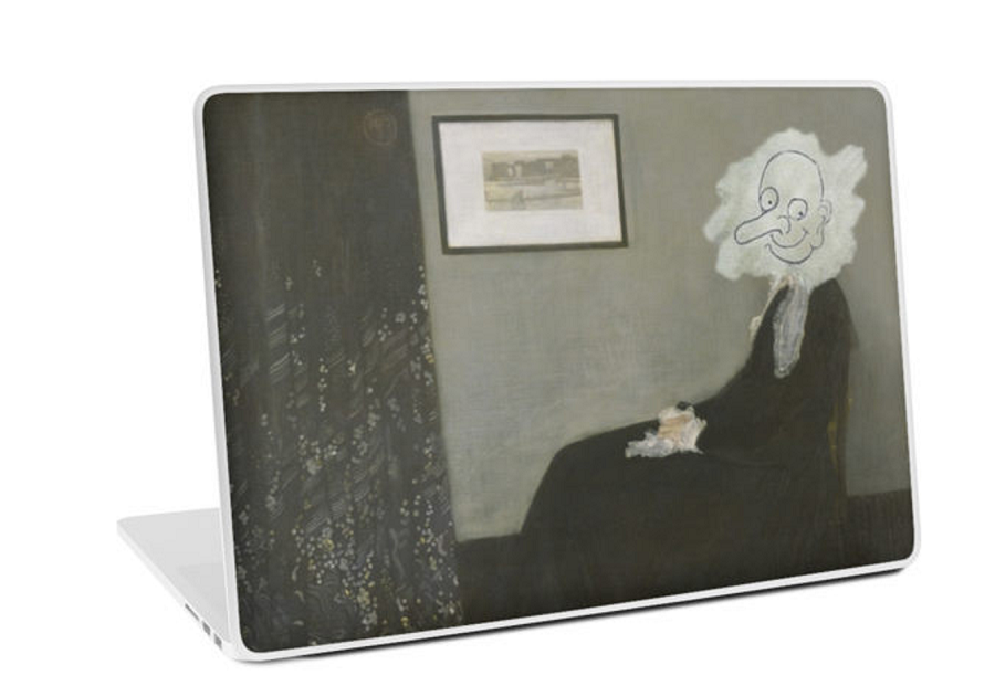 Whistlers_Mother_the_coolist_bean_laptop_skin