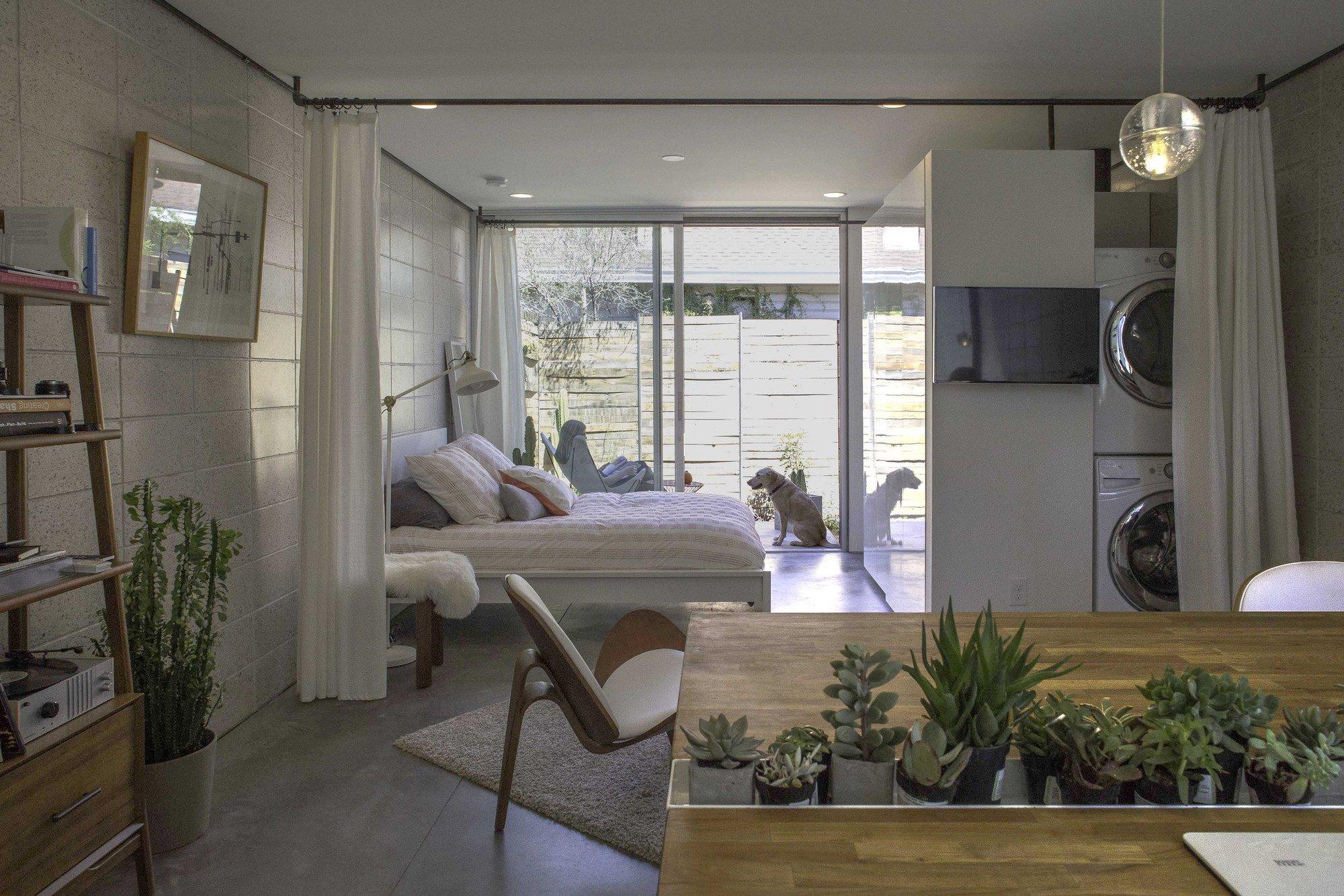 White Stone Studios minimalist apartment