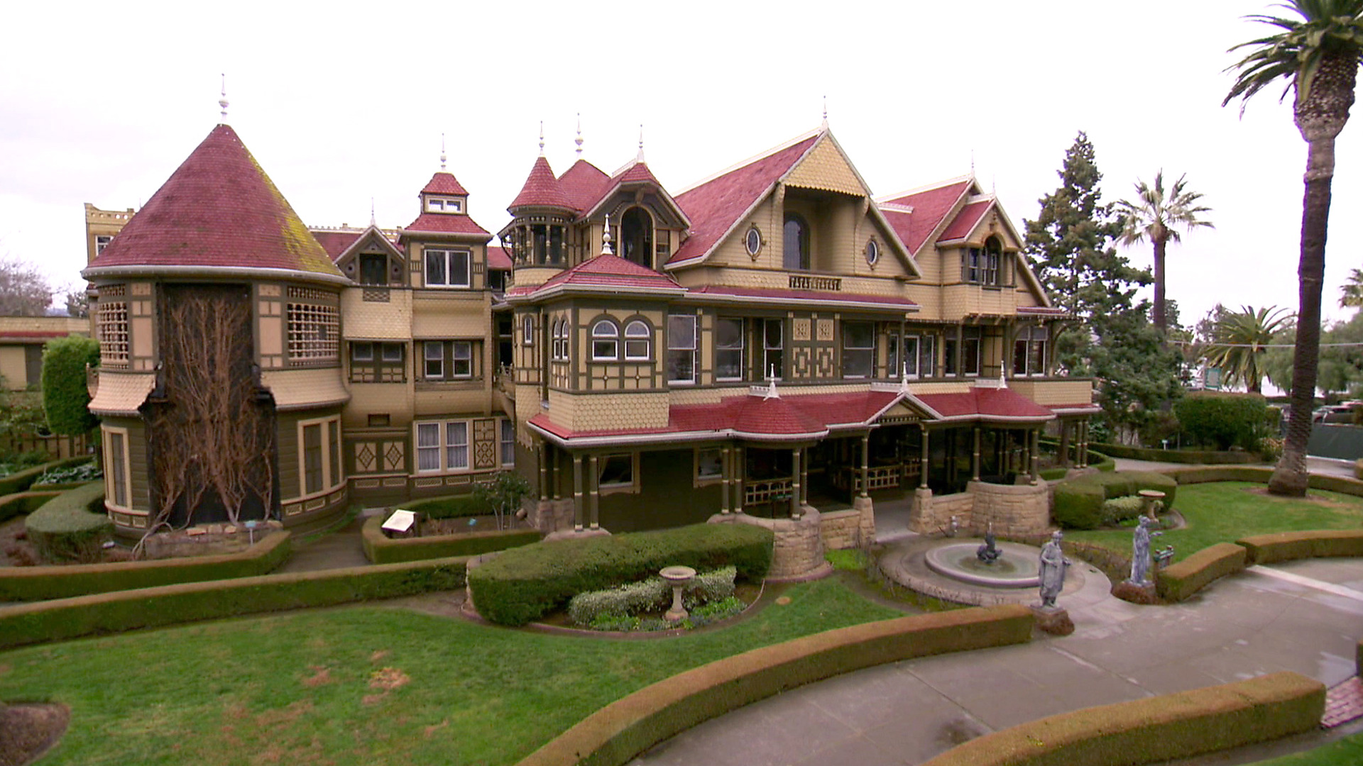 Winchester Mystery House – haunted place