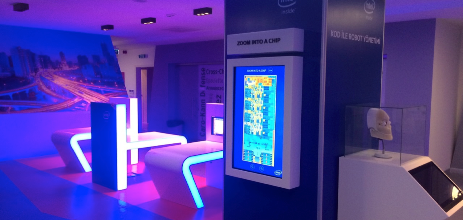 intel museum interactive exhibits