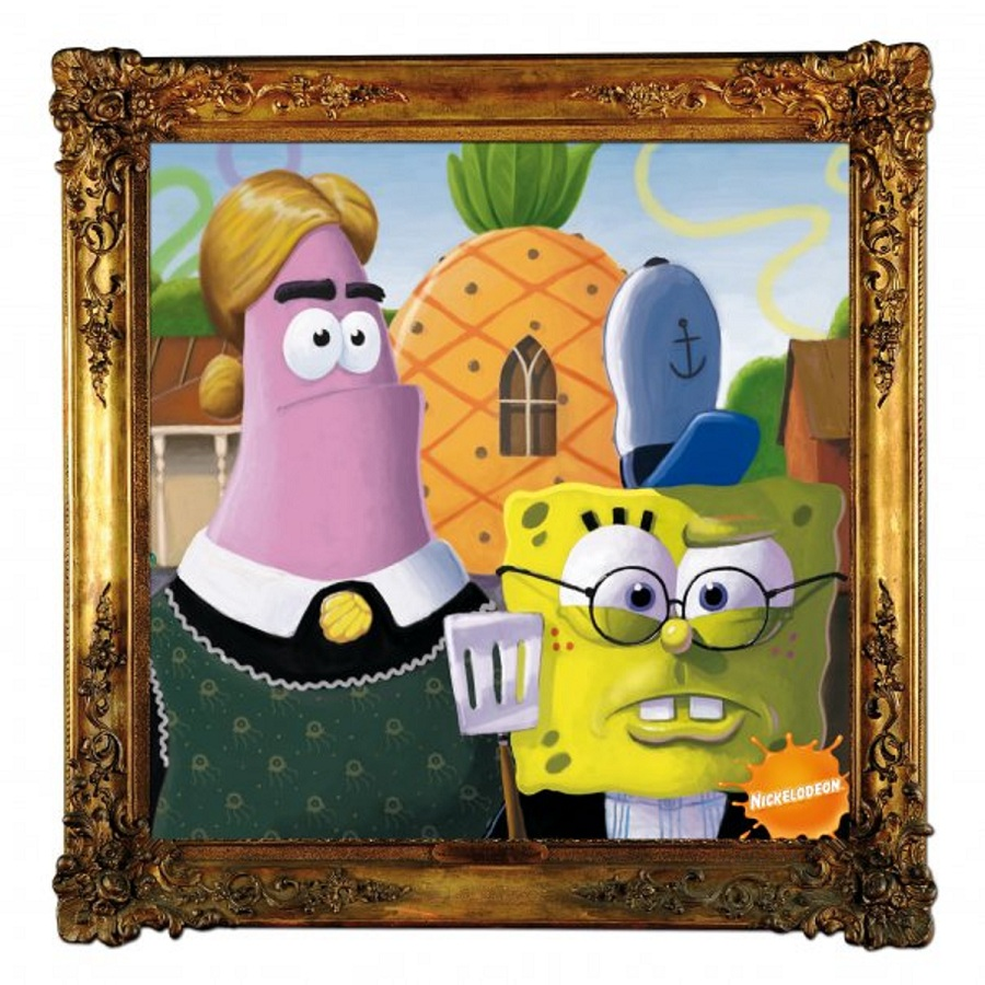 spongebob-the-coolist-american-gothic