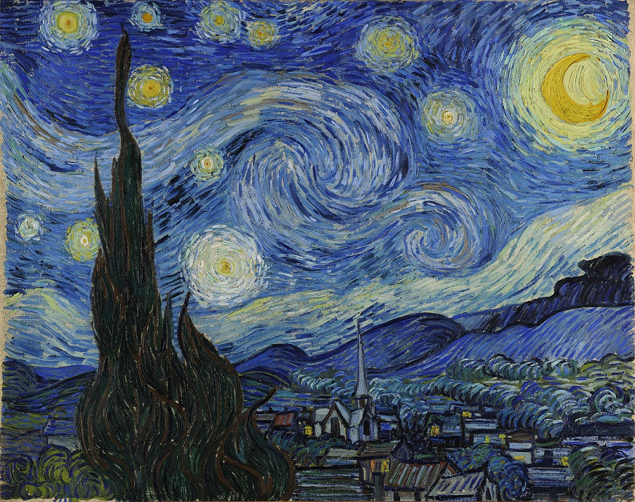 van gogh starry night the coolist Art Inspired By Art: Van Gogh, Picasso And Other Master Painters Inspiring The People Around Us
