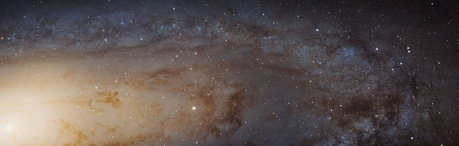 The largest and sharpest image ever of the Andromeda galaxy.