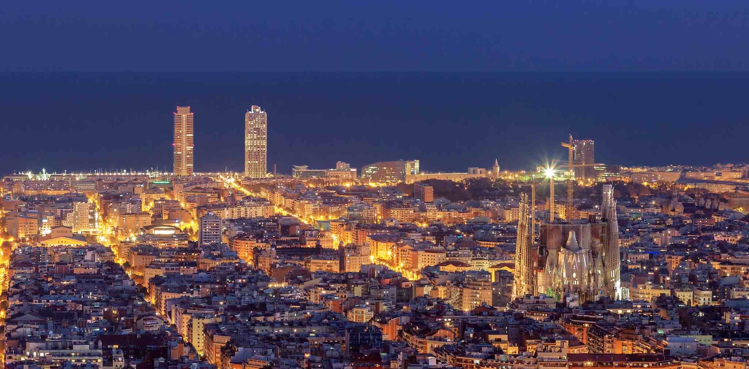 Barcelona – rare rooftop view