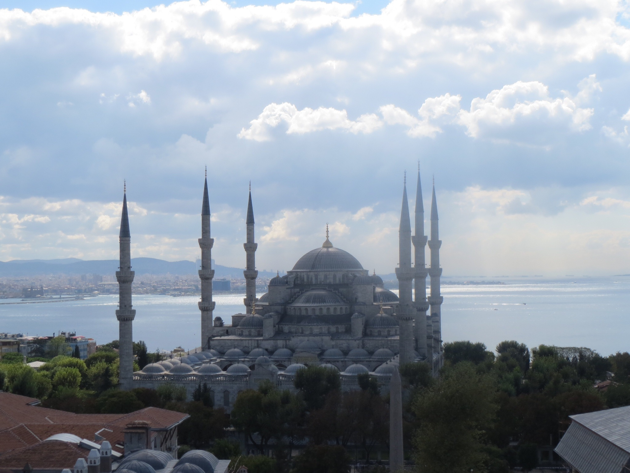 Blue Mosque Istanbul – rare rooftop view