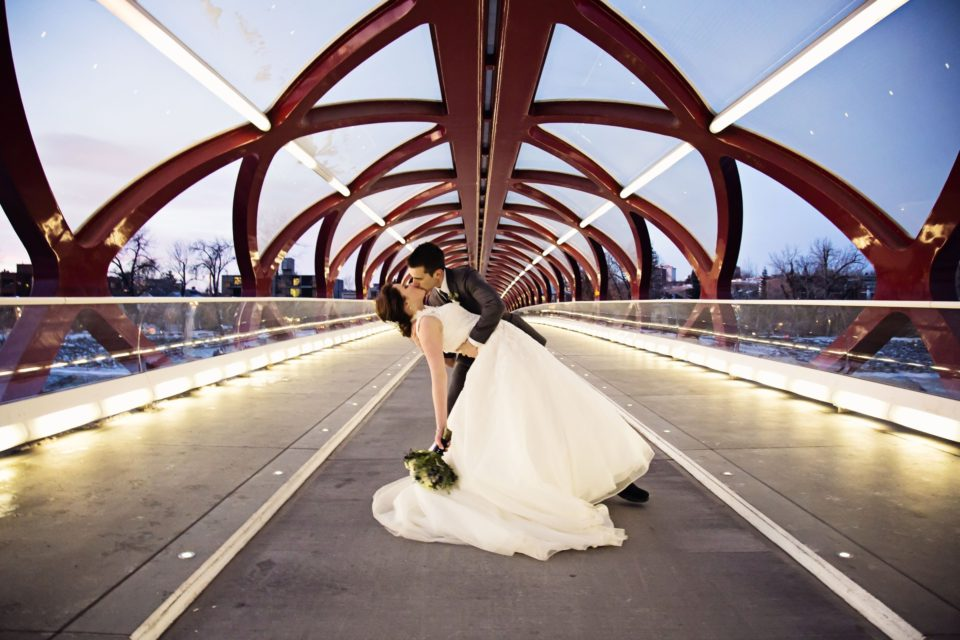 19 places to have a wedding no one will forget view in gallery bridge wedding venues 960x640 19 places to have a wedding no one will forget junglespirit Images